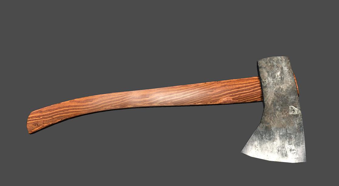 axe games 3d model