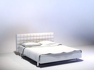 free c4d model bed
