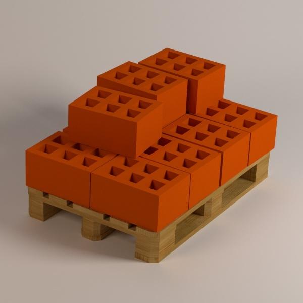 red bricks 3ds
