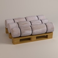 3d model of construction insulation