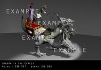 3ds max dragon circus