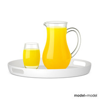 max pitcher glass orange juice