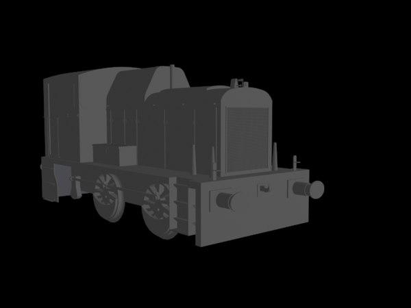 3d model 06 shunter