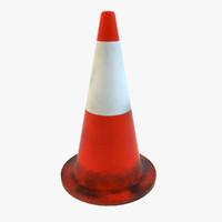 3d model cone