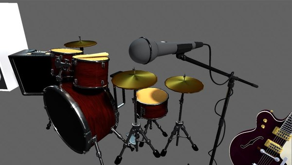 music instrument 3d model