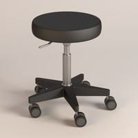 hospital chair 3d 3ds