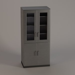 3ds hospital cabinet