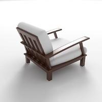 outdoor armchair