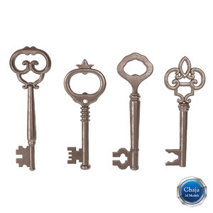 3d model old key