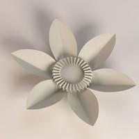 3d paper plant