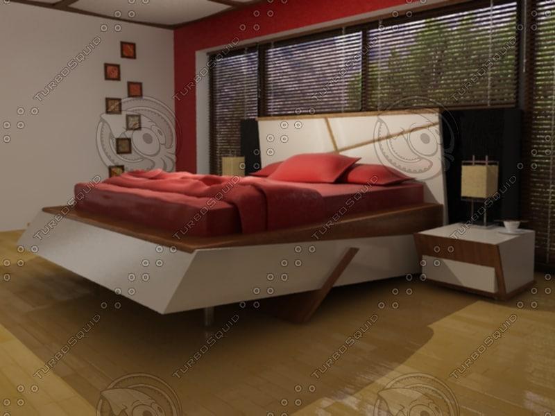3d bedroom camera