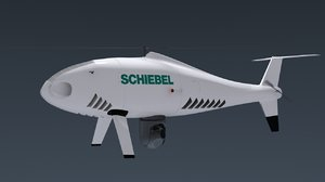 3d shiebell camcopter model