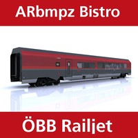 bistro train railjet 3ds
