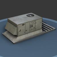 hvac unit 3d model