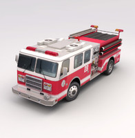 US Fire Engine
