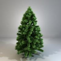 3dsmax fir plant