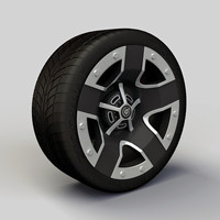 Wheel Dropstars DS11 rim and tire