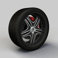 dropstars ds09 rim 3d model