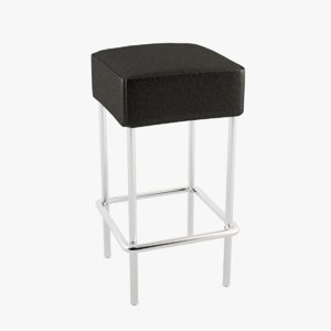 bar stool ikea 3d max