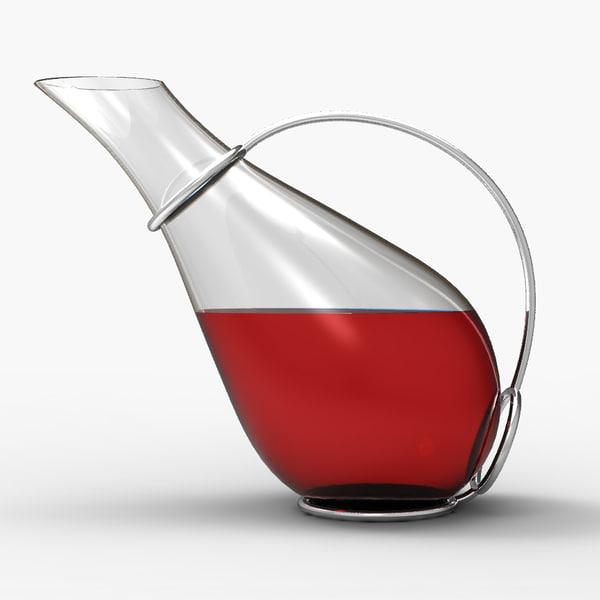 max techno wine decanter