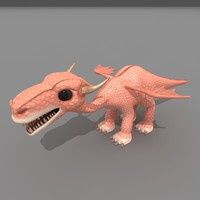 3d dragon little