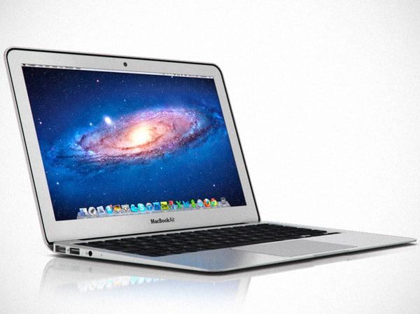 11 inch macbook air 3d model
