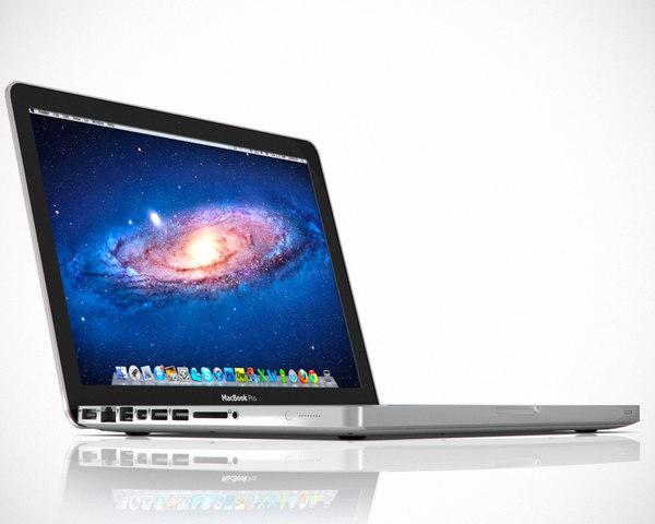 13 inch macbook pro 3d model