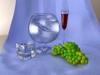 3dsmax life glasses grape