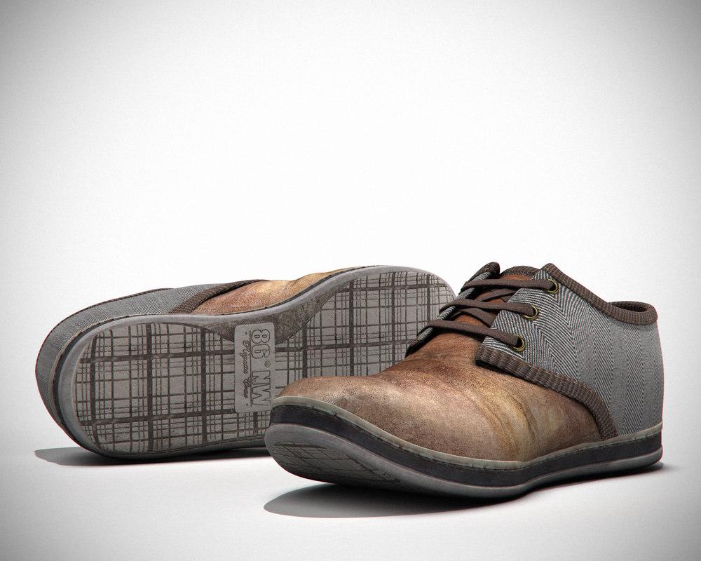 3d model elegant shoe barratts