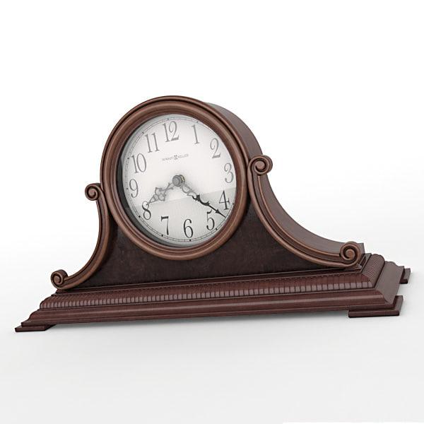 max analog mantel clock