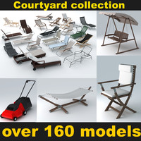 Courtyard elements collection