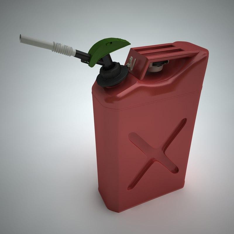 gas 3d model