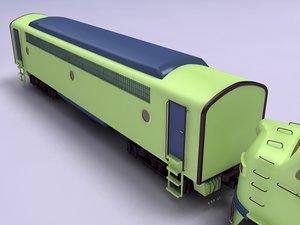 train wagon 3ds