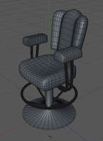 c4d casino chair