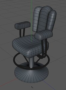 c4d casino chair
