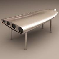 eichholtz desk wing 3ds