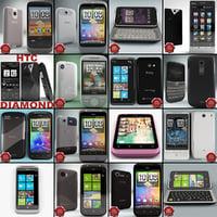 3d model htc phones v6