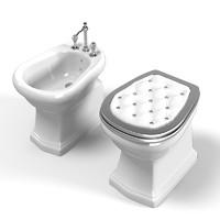 3dsmax lineatre classic toilet