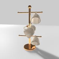 mug tree 3d model