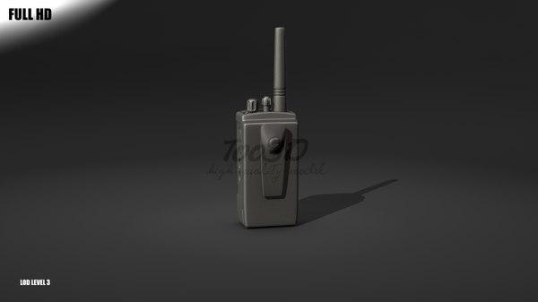 3d handheld transceiver