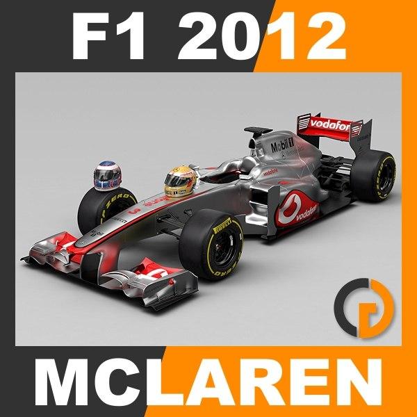 max formula 1 2012 mclaren