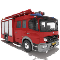 Mercedes Atego Fire Truck V2