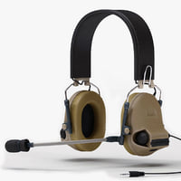 Military Peltor Com-Tac II Headset