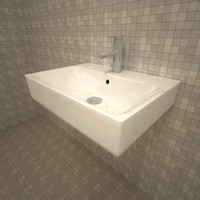 Vitra Nuo Sink 60cms + Tap