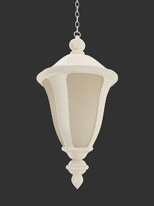 pendant lamp forged 3d obj