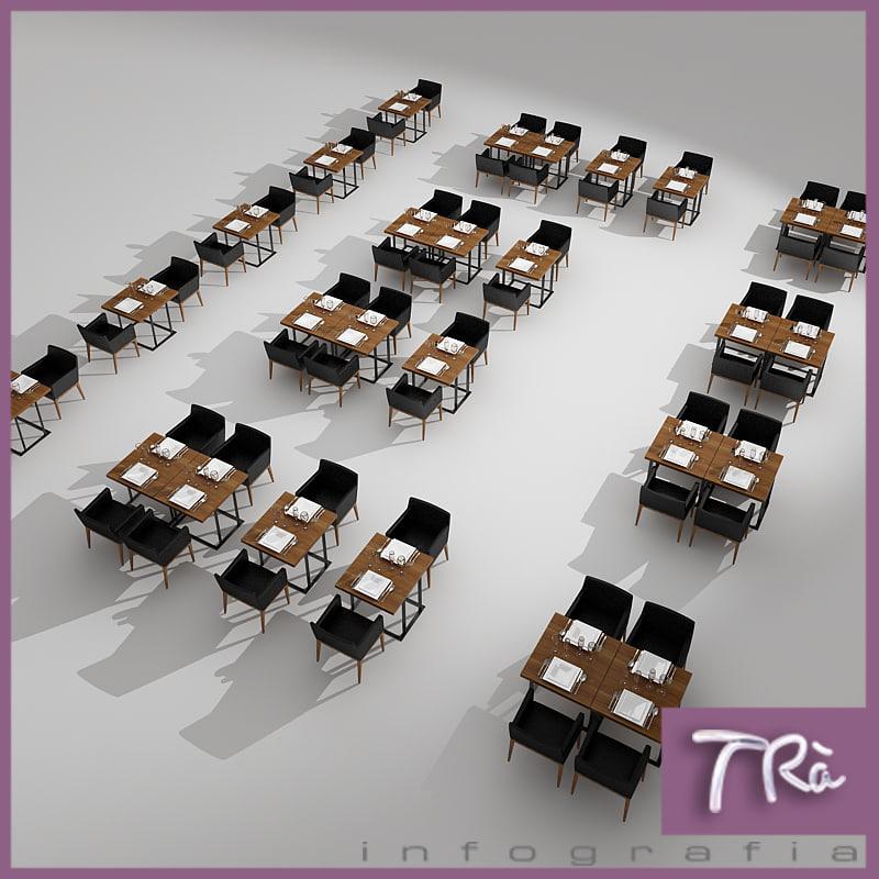 Maya Restaurant Tables Area