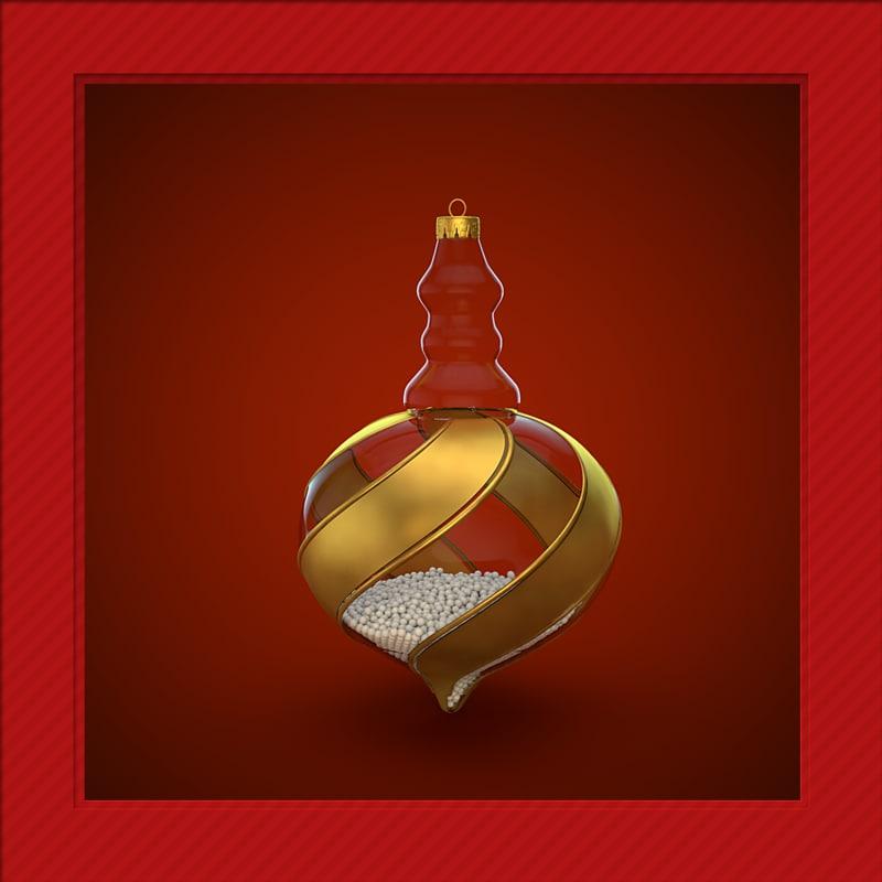 c4d christmas decoration