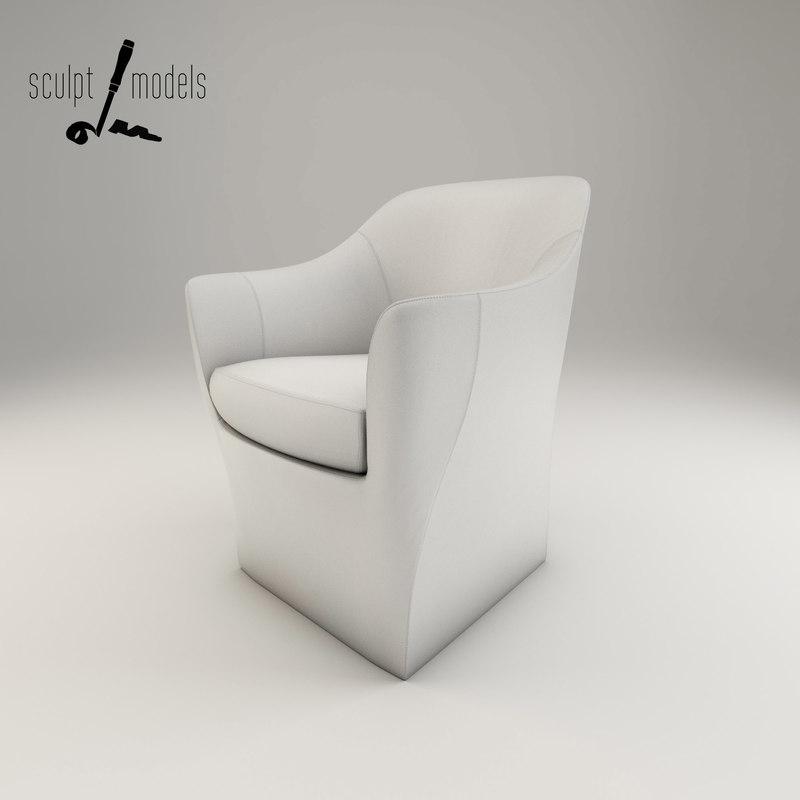3d model frac designed claudio