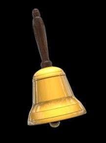 3d hand bell