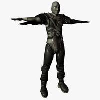 3d model character guts berserk